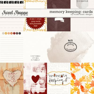 Memory Keeping: Cards by Studio Basic