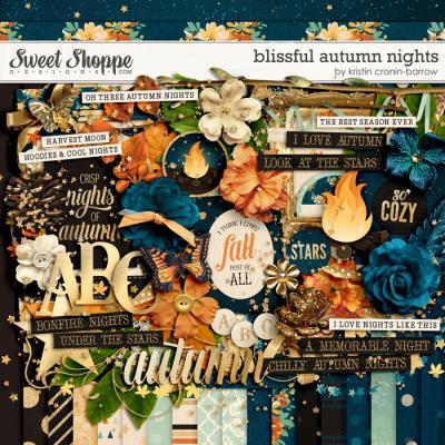 Blissful Autumn Nights by Kristin Cronin-Barrow