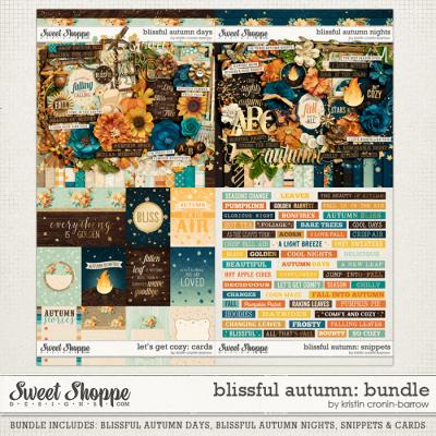 Blissful Autumn Bundle by Kristin Cronin-Barrow