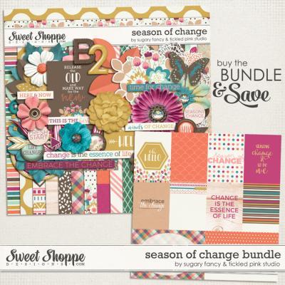 Season of Change Bundle by Sugary Fancy & Tickled Pink Studio
