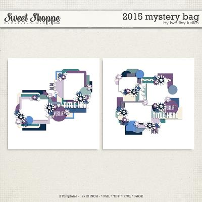 2015 Mystery Bag by Two Tiny Turtles