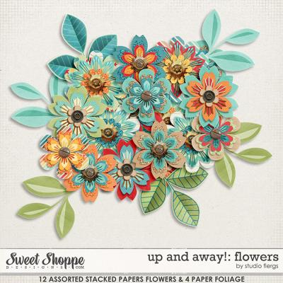 Up & Away!: FLOWERS by Studio Flergs