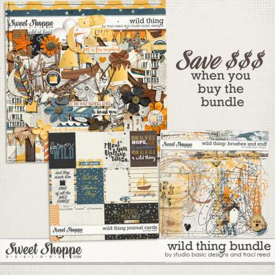 Wild Thing Bundle by Studio Basic and Traci Reed