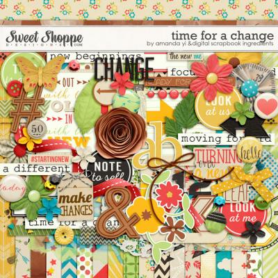 Time For A Change by Amanda Yi & Digital Scrapbook Ingredients