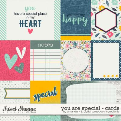 You Are Special : Cards by Amanda Yi & Digital Scrapbook Ingredients