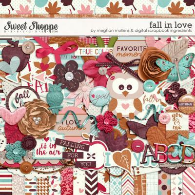 Fall In Love by Digital Scrapbook Ingredients & Meghan Mullens