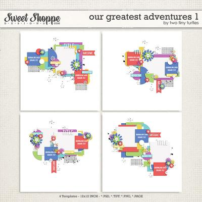 Our Greatest Adventures 1 by Two Tiny Turtles
