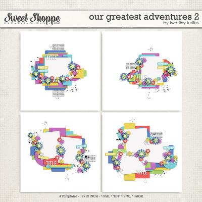 Our Greatest Adventures 2 by Two Tiny Turtles