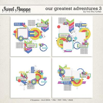 Our Greatest Adventures 3 by Two Tiny Turtles