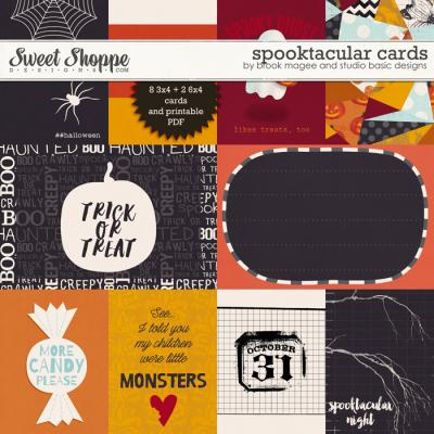 Spooktacular: Cards by Brook Magee and Studio Basic Designs