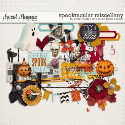 Spooktacular: Miscellany by Brook Magee and Studio Basic Designs