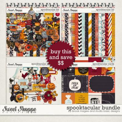Spooktacular: Bundle by Brook Magee and Studio Basic Designs