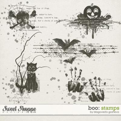 BOO! {Stamps} by Blagovesta Gosheva