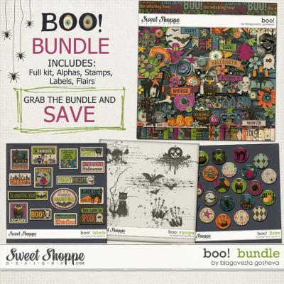 BOO! {Bundle} by Blagovesta Gosheva