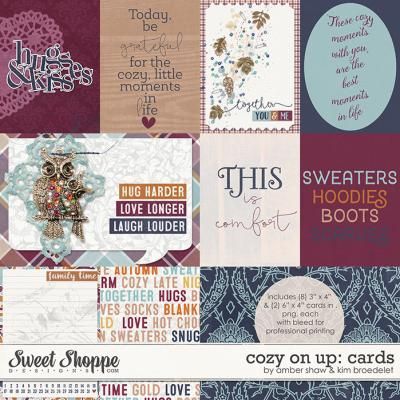 Cozy On Up: Cards by Amber Shaw