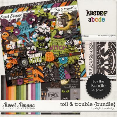 Toil & Trouble {Bundle} by Digilicious Design