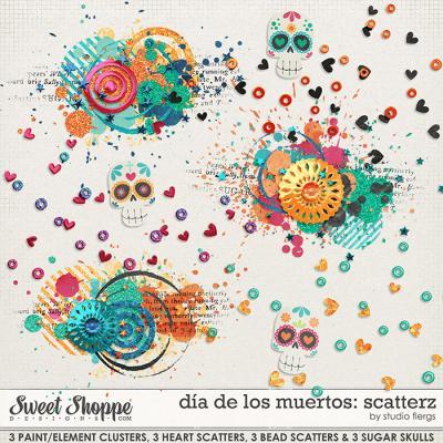 dia de los muertos: SCATTERZ by Studio Flergs