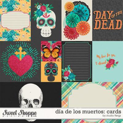 dia de los muertos: CARDS by Studio Flergs