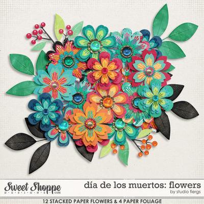 dia de los muertos: FLOWERS by Studio Flergs