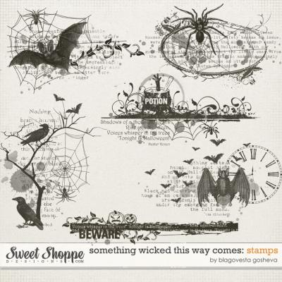 Something Wicked This Way Comes: Stamps by Blagovesta Gosheva