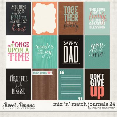 Mix 'n' Match Journals 24 by Shawna Clingerman