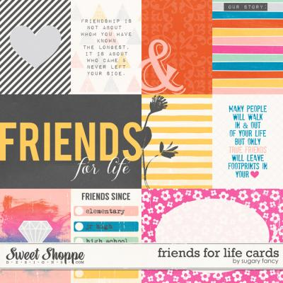 Friends for Life Cards by Sugary Fancy