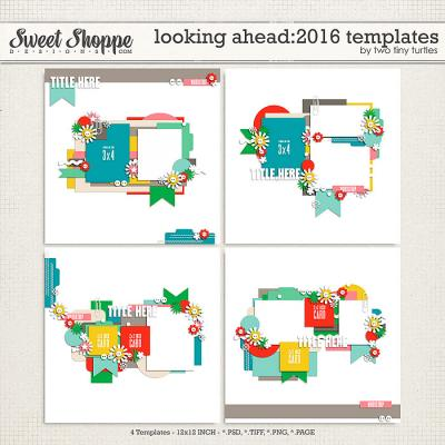Looking Ahead: 2016 Templates by Two Tiny Turtles