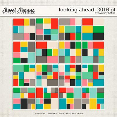 Looking Ahead: 2016 Pocket Templates by Two Tiny Turtles
