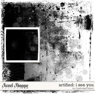 Artified: I see you by Captivated Visions