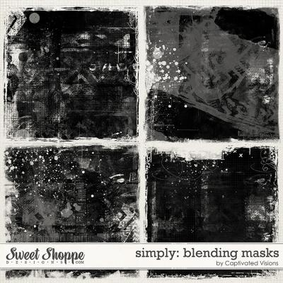 Simply: Blending Masks by Captivated Visions