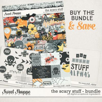 The Scary Stuff Bundle by Digital Scrapbook Ingredients