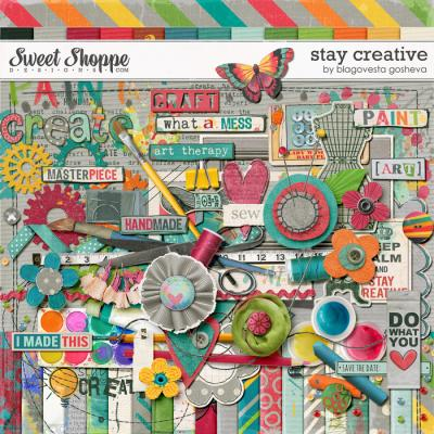 Stay Creative {digital kit} by Blagovesta Gosheva