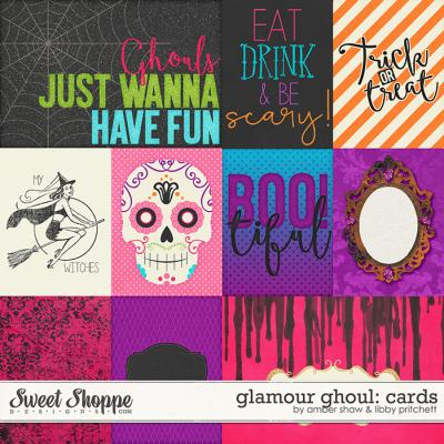 Glamour Ghoul Cards by Amber Shaw & Libby Pritchett