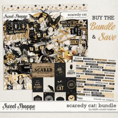 Scaredy Cat: Bundle by Kristin Cronin-Barrow