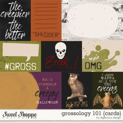 Grossology 101 {Cards} by Digilicious Design