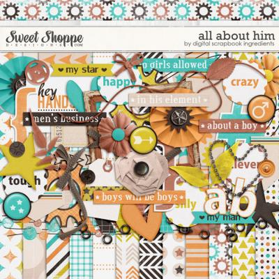 All About Him by Digital Scrapbook Ingredients
