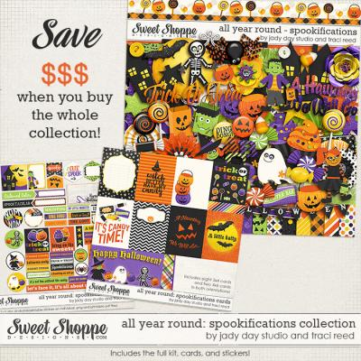 All Year Round: Spookifications Bundle by Traci Reed and Jady Day Studio