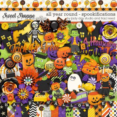 All Year Round: Spookifications by Traci Reed and Jady Day Studio