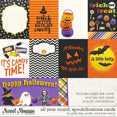 All Year Round: Spookifications Cards by Traci Reed and Jady Day Studio