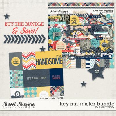 Hey Mr. Mister Bundle by Sugary Fancy