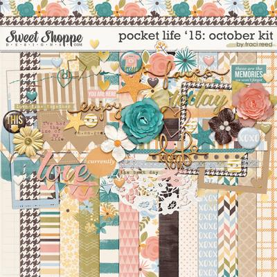 Pocket Life '15: October Kit by Traci Reed