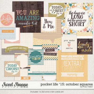 Pocket Life '15: October Squares by Traci Reed