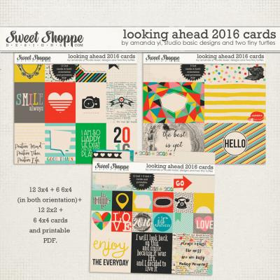 Looking Ahead 2016: Cards by Amanda Yi, Studio Basic Designs & Two Tiny Turtles