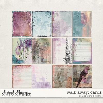 Walk Away: Cards by Captivated Visions