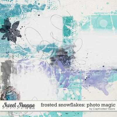 Frosted Snowflakes: Photo Magic by Captivated Visions