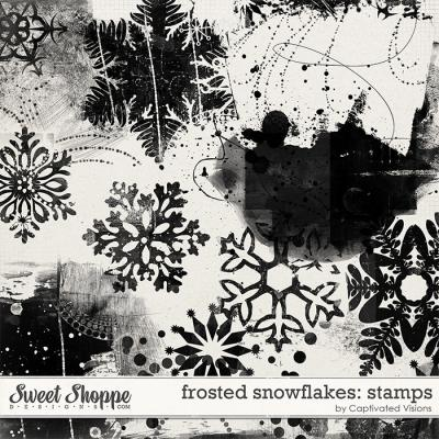 Frosted Snowflakes: Stamps by Captivated Visions