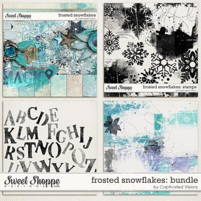 Frosted Snowflakes: Bundle by Captivated Visions