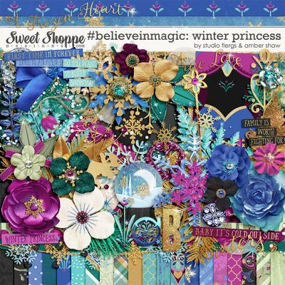 #believeinmagic: Winter Princess by Amber Shaw & Studio Flergs