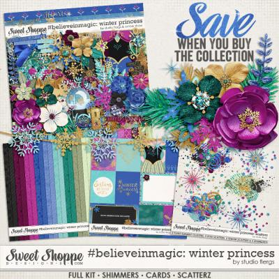 #believeinmagic: Winter Princess Collection by Amber Shaw & Studio Flergs