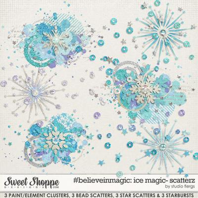 #believeinmagic Ice Magic: SCATTERZ by Studio Flergs